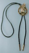 "Shriners Bolo Tie with Bronze Plated Slide 36"" Cord Algeria Shrine"