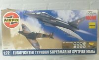 Airfix 1/72 THEN & NOW    Eurofighter Typhoon & Supermarine Spitfire MkIIa