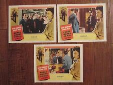 Three Hours To Kill  - Original  Lobby Cards - Andrews- Donna Reed