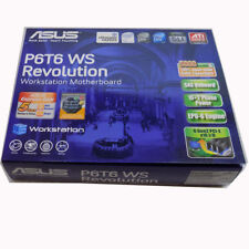 New Asus P6T6 WS Revolution Motherboard Socket LGA1366 DDR3 Intel X58 w/shield