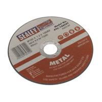 PTC/100CET Sealey Cutting Disc Ø100 x 1.2mm 16mm Bore [Cutting Discs]