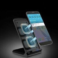 Supporto di ricarica wireless Qi Caricatore pad per iPhone X 8 Samsung S8 S7