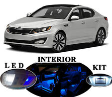 LED Package - Interior + License Plate + Vanity for Kia Optima (10 pieces)