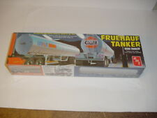 1/25 AMT Vintage GULF Fruehauf Tanker Semi-Trailer Kit Sealed! New Old Stock!