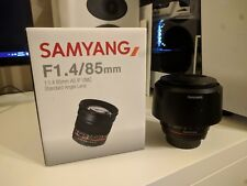 Samyang 85mm f/1.4 IF AS UMC Lens For Nikon - Very Good Condition