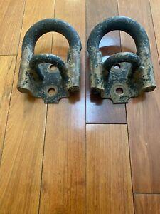 *PAIR* Genuine Toyota Tundra Tow Hooks 07-19 OEM