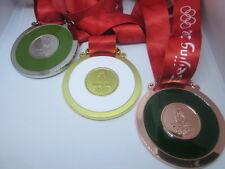 Set di Pechino 2008 OLYMPIC REPLICA 3 medaglie ORO ARGENTO BRONZO