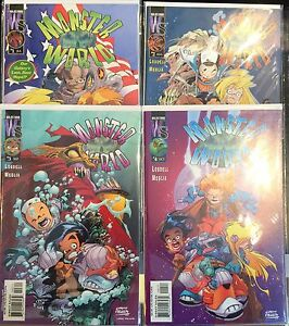 Monster World #1-4 Set VF+ 1st Print Free UK P&P Wildstorm Comics