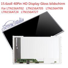 "LTN156AT02 LTN156AT05 LTN156AT09 LTN156AT24 LTN156AT27 LED LCD Display 15,6"""