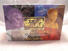STAR WARS CCG REFLECTIONS COMPLETE SEALED BOX OF 30 BOOSTER PACKS