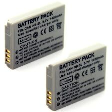 2x Battery for Canon PowerShot S100 S100V S110 SX200 IS SX210 IS SX220 SX230 HS