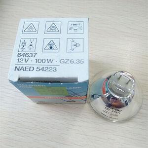 OSRAM 64637 12V100W GZ6.35 NAED 54223 Mounter Lamp Optical Instrument Light Bulb