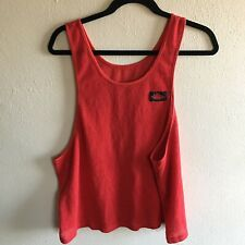 Rare Vintage 80s Nike Air Jordan Wings Logo Tank Top Size Large