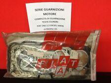 SERIE GUARNIZIONI MOTORE PER FIAT 242 - CITROEN C35 DIESEL 2200 ORIGINALE