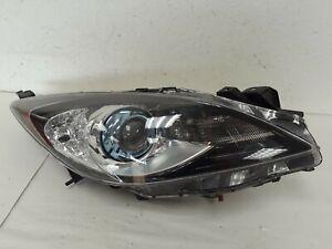 2012 13 MAZDA 3 HEADLIGHT Lamp PASSENGER SIDE XENON OEM *B2951