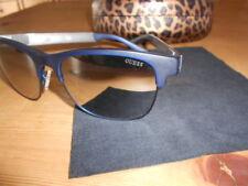 Occhiali da sole donna GUESS blu specchio originali usati 2 volte negozio 120 eu