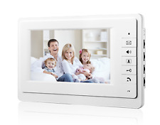 """Wired 7"""" LCD Color Screen for Video Door phone Intercom System Monitor Unlock"""
