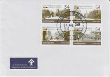 D. Mail Express  900 Jahre Oldenburg  Zeitreise  4 Werte  FDC