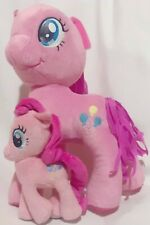 "My Little Pony Pinkie Pie Plush Lot Stuffed 13"" & 7"""