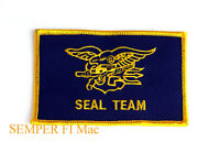 US NAVY SEAL TEAM FLASH HAT PATCH BIN LADEN HAVE A NICE DAY UDT USN LOGO WOW!
