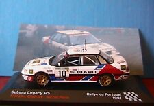 SUBARU LEGACY RS #10 RALLYE PORTUGAL 1991 CHATRIOT PERIN 1/43 DIE CAST MODEL