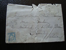 FRANCE enveloppe 1898 (cy15) french