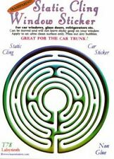 Labyrinth Static Cling Window Sticker