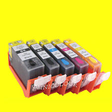 5 refillable cartridge with edible ink for Canon PGI-225 CLI-226  cake 525 526