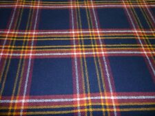 Earl of Inverness Hunting Tartan Fabric Plaid 100% Pure New Wool By The Metre