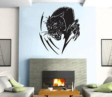 Leopar Couguar Predator Aggressive  Mural  Wall Art Decor Vinyl Sticker z897