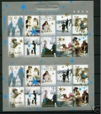 Nederland NVPH 2296-05 Vel Decemberzegels 2004 Gestempeld Purmerend