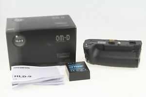 Olympus HLD-9 Power Battery Grip for E-M1 Mark II/III with extra Battery EXC+