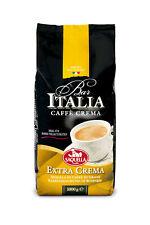 Saquella Bar Italia Caffè Crema, Extra Crema 8 x 1000 g Bohnen MHD 11/2020