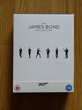 THE JAMES BOND 007 23 FILM COLLECTION, BLURAY, UNSEALED, NO UV CODES
