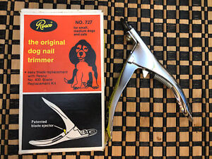 VINTAGE RESCO The Original Dog Nail Trimmer No.727 In Box Pet Nail Cutter
