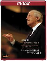 "GUSTAV MAHLER - SYMPHONY NO. 2 ""RESURRECTION"" USED - VERY GOOD HD DVD"