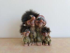 Vintage Original NyForm #268 Troll Family - Norway Souvenir