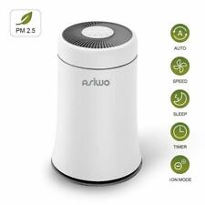 Asiwo Air Purifier for Home Filters Smoke, Dust, Pet Dander, Odors, 3 in 1