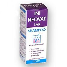 NEOVAL TAR Anti Dandruff Psoriasis Seborrheic dermatitis Treatment Shampoo 125ml