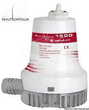 Pompa di sentina EuroPump II 1500 Osculati - 12V - per barca gommone - 16.122.10