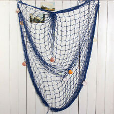 Mediterranean Fishing Netting Fish Net Craft Sea Beach Party Nautical Decor