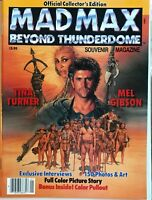 Mad Max Beyond Thunderdome Souvenir Magazine 1 Tina Turner Mel Gibson NM New