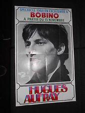 HUGUES AUFRAY RARE AFFICHE ORIGINALE  FRENCH POSTER BOBINO 1968
