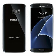 Near MINT Unlocked Samsung Galaxy S7 Edge G935A Black AT&T Straight Talk Cricket