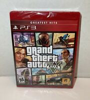 Grand Theft Auto V (Greatest Hits) - PS3 - Brand New   Factory Sealed