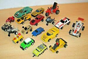Diecast & Plastic Cars x18 inc. Mego/ Hasbro etc