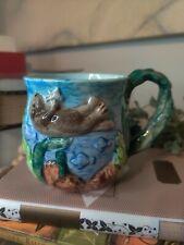Vintage Takahashi San Francisco Handpainted Sea Otter Mug