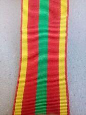 Coupe de ruban pour medaille croix du combattant volontaire 15 cm par 37 mm