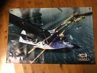World War 2 Bomber Command RAF Safety Poster A3//A4 Print