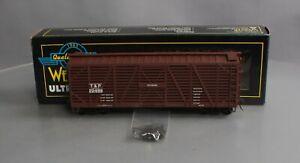 Weaver U4320S O Scale Texas & Pacific 40' Stock Car #22499 [2Rail] LN/Box